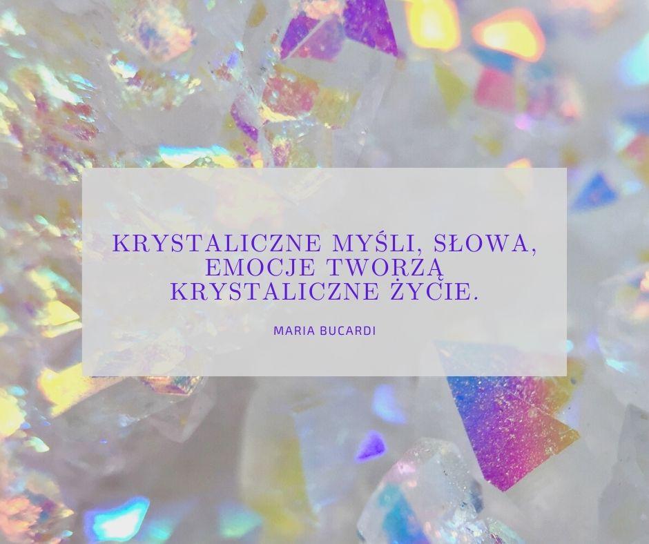 krystaliczne myśli, słowa, emocje Maria Bucardi ceremonia