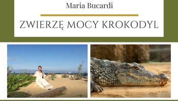 Maria Bucardi Zwierzę Mocy znaczenie Krokodyl