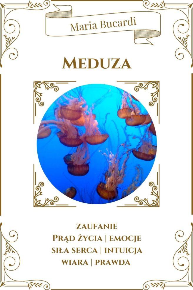Meduza Karta Zwierzę Mocy I Maria Bucardi