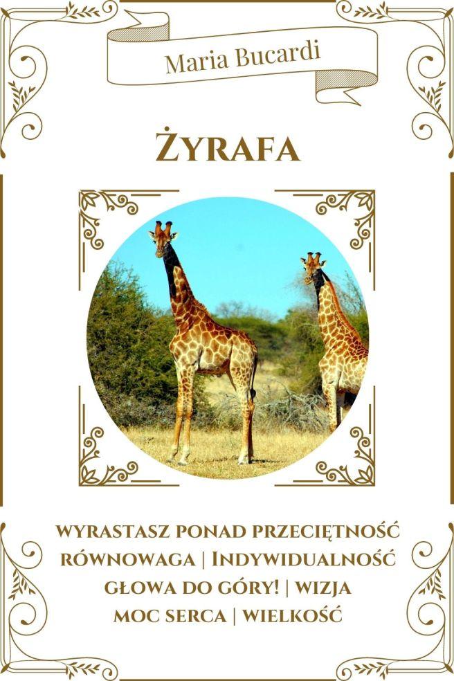 Żyrafa Karta Zwierzę Mocy I Maria Bucardi